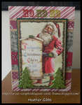 Vintage Christmas Card #28 Proclamation