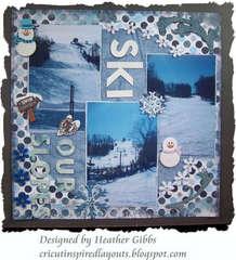 Ski Layout #2; Our Slopes