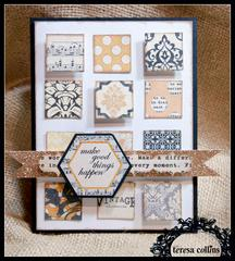 **Teresa Collins** Vintage Finds - Make good things happen card