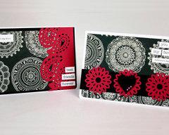 Boho Valentines Cards by Fiskars Designer: Katrina Simeck