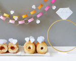 Diamond Themed Bridal Shower by Fiskars Designer: Lisa Storms