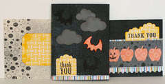 Halloween Cards featuring New Fiskars Holiday Punches