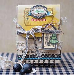 Christmas Minibook Organizer