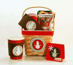 Fiskars Cocoa Gift Basket by Katrina Simeck