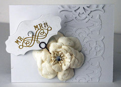 Handmade Wedding Cards by Fiskars Designer: Kim Garner
