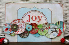 Joy by Patti Milazzo using Bo Bunny Blitzen
