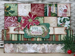 Joys of the Season by Patti Milazzo using Bo Bunny Father Christmas