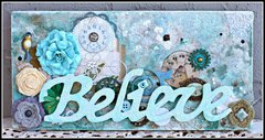 Believe (Canvas) by Rhonda Van Ginkel