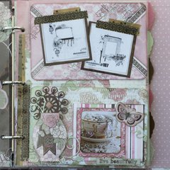 Primrose Misc Me Inspiration Journal by Rhonda Van Ginkel