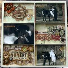 Live for the Moment by Debbie Sherman using Bo Bunny Zoology