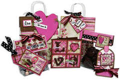 Bag, Tags and Valentine Card Class Kit