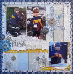 First Snow by Carin McDonough featuring Powder Mountain from Bo Bunny