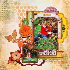 Autumn Adventures by Denise van Deventer