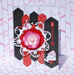 For My Love card by Denise van Deventer