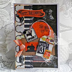 Happy Halloween - Lisa Novogrodski