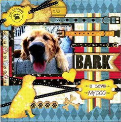 BARK featuring Happy Tails from Bo Bunny