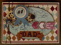 #1 Dad by Megan Gourlay