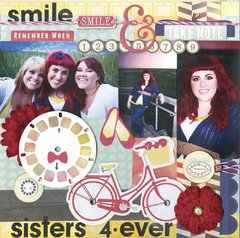 Sisters 4-Ever featuring Modern Miss from Bo Bunny