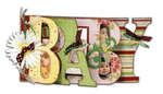 Baby My Word Chipboard Album