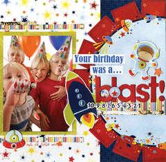 Blastoff Birthday