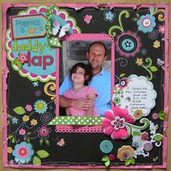 Daddy's Lap by Designer: Rita Shimniok