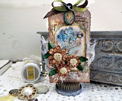 Garden Journal Tag - Lisa Novogrodski