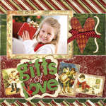 Gifts of Love using Noel from Bo Bunny