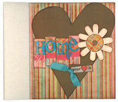 Home is Where 9x9 Binder Album Class Kit