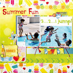 Summer Fun featuring Lemonade Stand from Bo Bunny