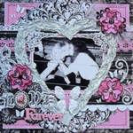 Love Forever by Bo Bunny DT Member:  Carin