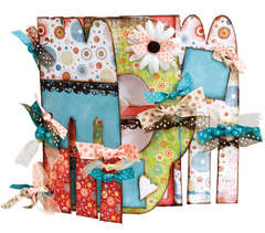 Bo Bunny Mom My Big Fat Chipboard Album
