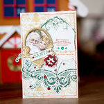 Merry Christmas Card by Evgenia Petzer