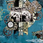 Steam Punk Inspired Somewhere in Time Collection from Bo Bunny