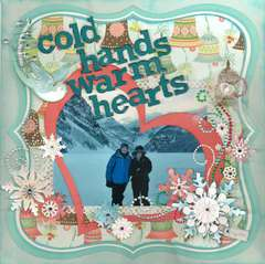 Lake Louise: Cold hands, warm hearts!