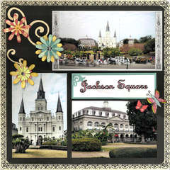 New Orleans: Jackson Square page 1