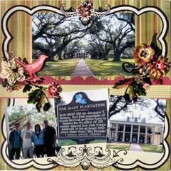 Oak Alley, Louisiana page 1