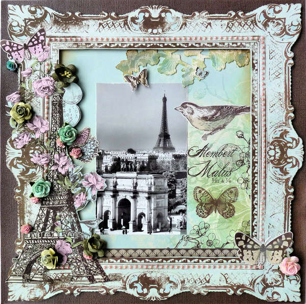 Layout paris - Magasin de scrapbooking paris ...