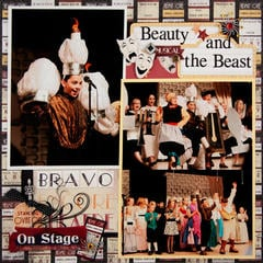 Beauty and the Beast Layout