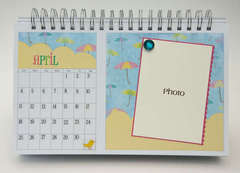 Desktop Flip Calendar - April