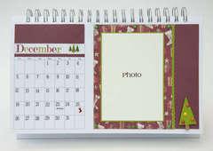 Desktop Flip Calendar - December