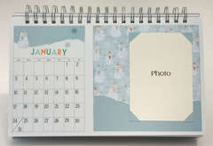 Desktop Flip Calendar - January