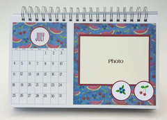 Desktop Flip Calendar - July