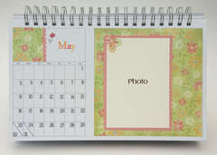 Desktop Flip Calendar - May