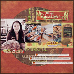 Happy Thanksgiving Layout
