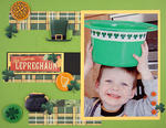 My Favorite Leprechaun Layout