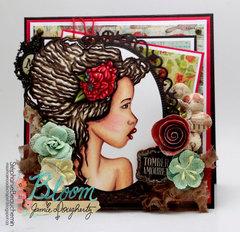 Bloom Girl Hope card
