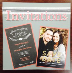 Wedding Save the Date and Invitations