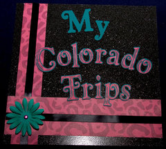 My Colorado Trips Cover Page