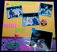 Halloween Mini Golf