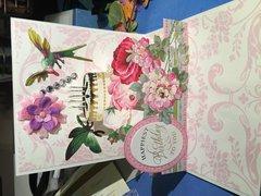 3D Pop Up Floral Card